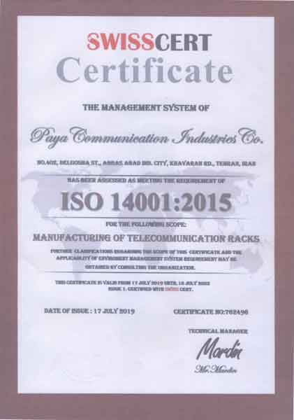 11 2 ISO 14001 Environmental Management System Certificate