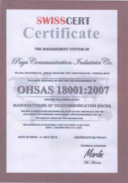 11 3 OHSAS 18001 Occupational Health and Safety Management Certification