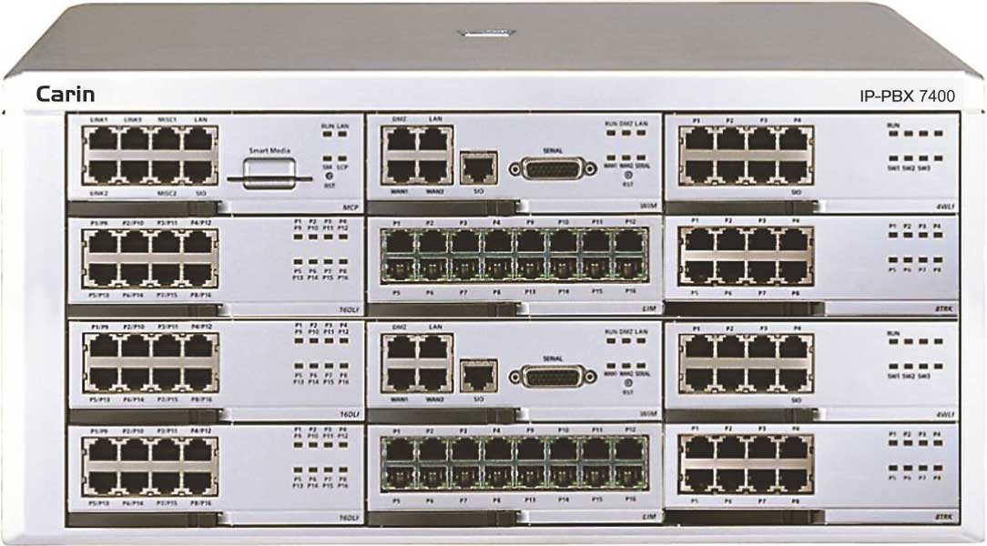 carin IP PBX 7400 1